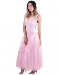 Romantische roze prinses kostuum voor vrouwen