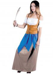 Zee piraat kostuum voor vrouwen
