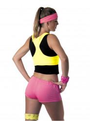 Fluo gele top voor vrouwen