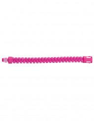 Roze ritssluiting armband voor volwassenen