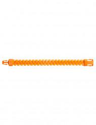 Oranje rits armband volwassenen