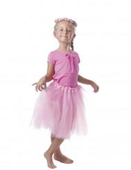 Roze ballerina tutu voor meisjes