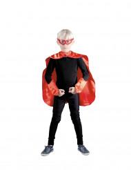 Rode superhelden set voor kinderen