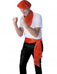 Rode Spaanse riem voor volwassenen