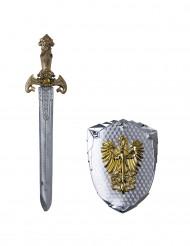 Feniks schild en zwaard