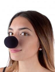 Zwarte clown neus voor volwassenen