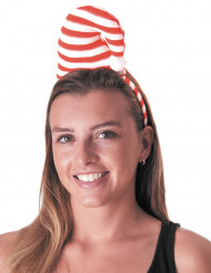 Haarband kerst muts voor volwassenen