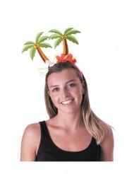 Palmboom haarband voor volwassenen