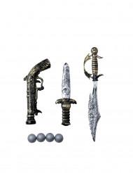 Set 3 piraten wapens voor kinderen