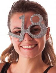 18 jaar glitter bril