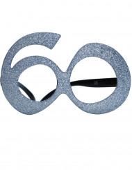 60 jaar glitter bril
