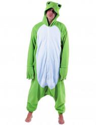 Groen kikker pak kostuum voor volwassenen
