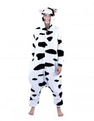 Pluche koeien kostuum voor volwassenen
