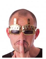Middelvinger bril voor volwassenen