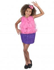 Roze cupcake kostuum voor meisjes