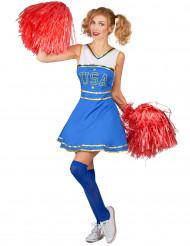 USA Cheerleader kostuum voor vrouwen