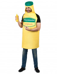Mayonnaise fles kostuum voor volwassenen