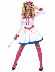 Manga maanprinses kostuum voor vrouwen