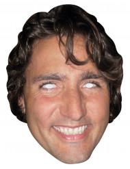 Kartonnen masker Justin Trudeau