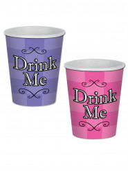 Drink Me bekertjes van Alice in magieland
