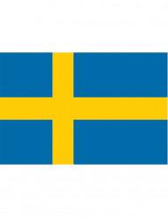 Zweedse supporter vlag