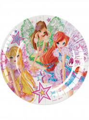 8 Winx Butterflix™ borden 23 cm
