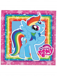 20 My Little Pony™ Rainbow Dash servetten