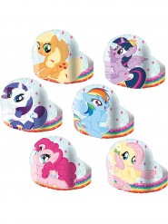6 kartonnen diademen My Little Pony™
