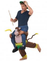 Op de rug van een aap kostuum voor volwassenen