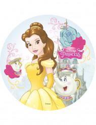 Eetbare taartdecoratie Belle en het Beest™