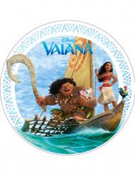 Eetbare taartdecoratie Vaiana™ 20 cm