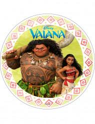 Eetbare Vaiana™ taartdecoratie