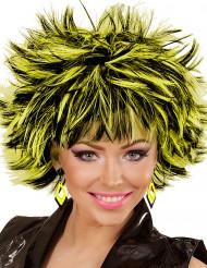 Zwarte en gele ruiten oorbellen voor vrouwen