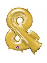 Enorme goudkleurige & ballon