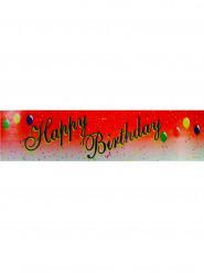 Rode Happy Birthday banner