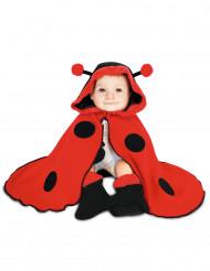 Lieveheersbeestje outfit met cape voor baby