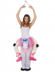 Danseres op eenhoorn kostuum voor vrouwen