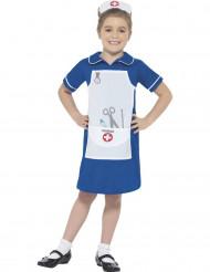 Blauw zuster kostuum voor meisjes