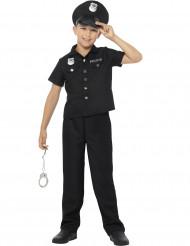New York politie agent kostuum voor jongens