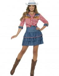 Rodeo cowboy kostuum voor dames