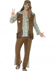Jaren 60 hippie kostuum voor mannen