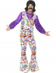 Hippie jaren 60 kostuum voor mannen