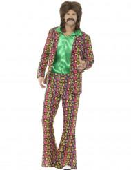 Peace hippie kostuum voor mannen