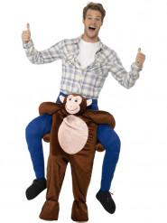 Aap carry me kostuum voor volwassenen