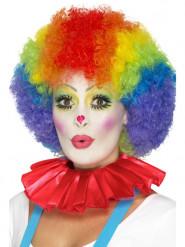 Rode clown kraag voor volwassenen