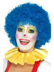 Gele clown kraag voor volwassenen