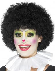 Witte clown kraag voor volwassenen
