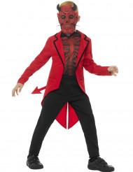 Duivels Dia de los Muertos kostuum voor jongens