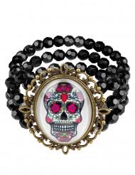 Gothic Dia de los Muertos armband voor vrouwen