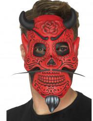 Demonische gentleman masker voor volwassenen